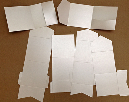 square pocketfold samples pda card and craft