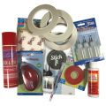 Adhesives, Glues, Tapes, Magnets etc.