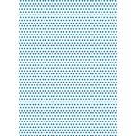V-Polka1-Blue/White 3mm
