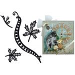 Marianne Design Craftables - Tiny Swirls & Leaves 1