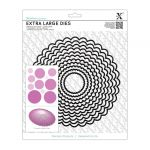 Scalloped Circle - Xcut Extra Large Die