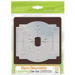 Tonic Studios - Deco Geometric - Layering Die Set