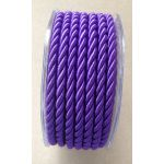 Satin Rope - Purple 10m Roll