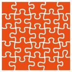 Marianne Design - Embossing Folder - Puzzle
