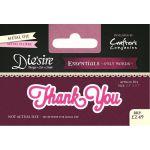 Thank You - Die'sire Essentials - Only Words Die