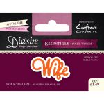 Wife - Die'sire Essentials - Only Words Die