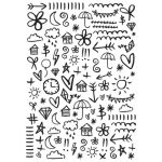 Doodles - KaiserCraft Embossing Folder