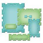Spellbinders Nestabilities - Tile Works - Cutting Dies