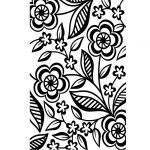 Darice Embossing Folder - Dainty Flower