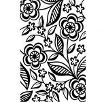 Dainty Flower Embossing Folder