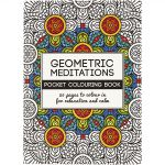 Antistress Colouring Book - Geometric Small