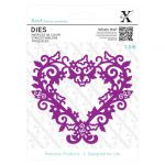 Filigree Heart Frame - Xcut Die