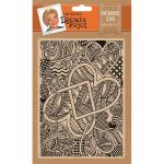 "Entwined Love - Leonie Pujol 5 x 7"" Embossing Folder"