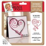 Funky Heart - Hearts and Swirls