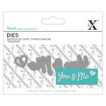You & Me - Xcut Mini Sentiment Die
