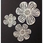 Laser Cut Flowers