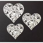 Laser Cut Hearts
