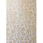 Artoz A4 Handmade Paper - Flowers Gold