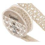 Eleganza Guipure - 25mm Open Satin Lace