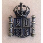 Antique Brass Coat of Arms - Metal Charm