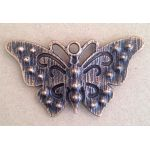 Antique Copper Butterfly - Metal Charm