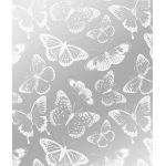 Printed Butterfly Acetate