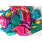 School Days Button Mix Pack - Brights