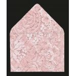 Printed Lace Effect Envelope LINERS for gummed envelopes