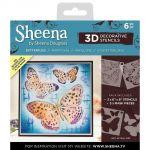 Butterflies - Sheena Douglass 3D Decorative Stencil