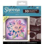Dahlia - Sheena Douglass 3D Decorative Stencil