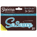 So Sorry Die - Sheena Douglass