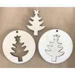 Wooden Christmas Decoration - Tree