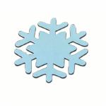 Die Cut Snowflake Shape