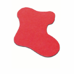 Die Cut Stocking Shape