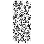 Oriental Lanterns (Peel Offs - Oriental/Egyptian)