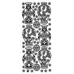 Oriental Vases (Peel Offs - Oriental/Egyptian)