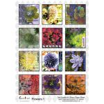 A4 Glossy Paper Sheet  - Flowers 1