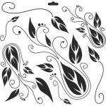 Craft Workshop Stencil - 6x6 - Windsong