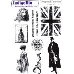 Pomp and Pageantry - IndigoBlu A5 Unmounted Stamp Set