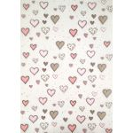Artoz A4 - Heart Patterned Vellum