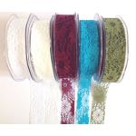 25mm Wide Lace Ribbon (METRE)