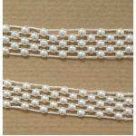 Pearls on a Roll - Lattice Weave 15mm