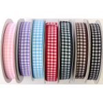 16mm Gingham Ribbon (METRE)