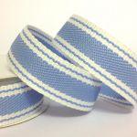 22mm Twill Stripe Ribbon (3 metre Roll)