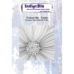 Colour Me - Daisy - IndigoBlu Mounted Stamp