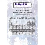 Periodic Table of Elements - IndigoBlu Mounted Stamp
