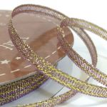 3mm Golden Accents Ribbon (5 metre ROLL)