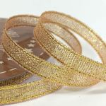 6mm Golden Accents Ribbon (5 metre ROLL)