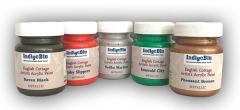 Indigoblu English Cottage Artists Acrylic Paints - METALLIC