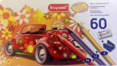 Bruynzeel - Coloured Pencils - Tin of 60